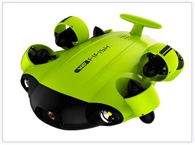 robot submarino underwater fifish v6